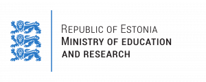 Estonian Ministry of Education and Research logo