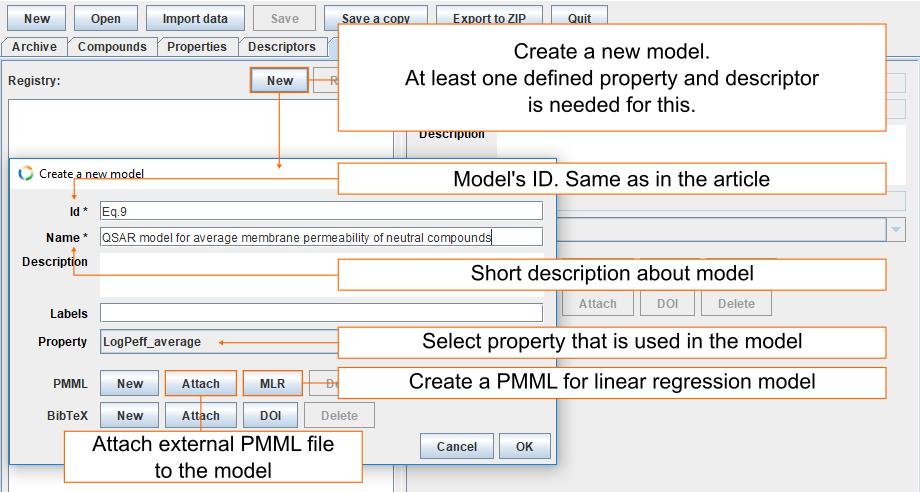 Model information