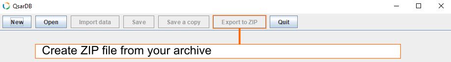 Export to ZIP