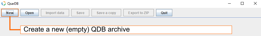 Create new archive